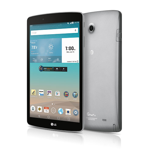 LG G Pad F 8.0 from AT&T available starting May 29