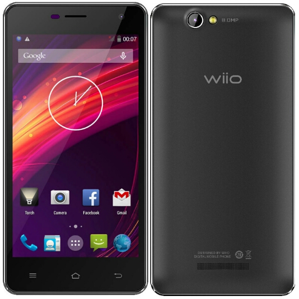 Wiio WI3 with 5-inch qHD screen and 4000mAh announced