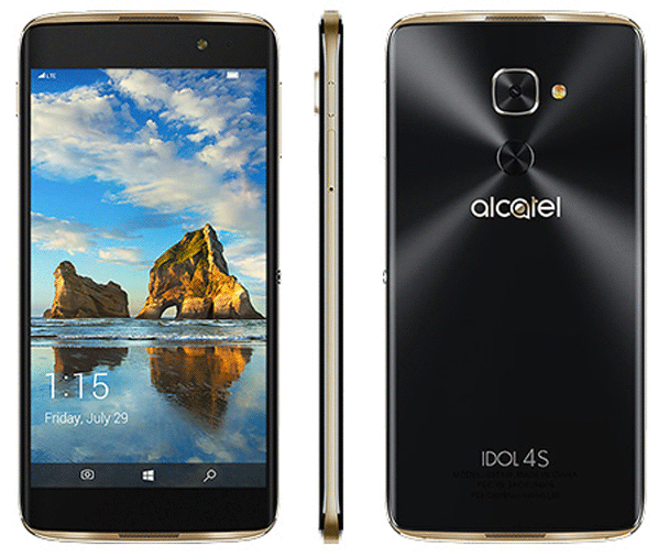 t mobile announce alcatel idol 4s with windows 10 mobile the gadgets freak tgf. Black Bedroom Furniture Sets. Home Design Ideas